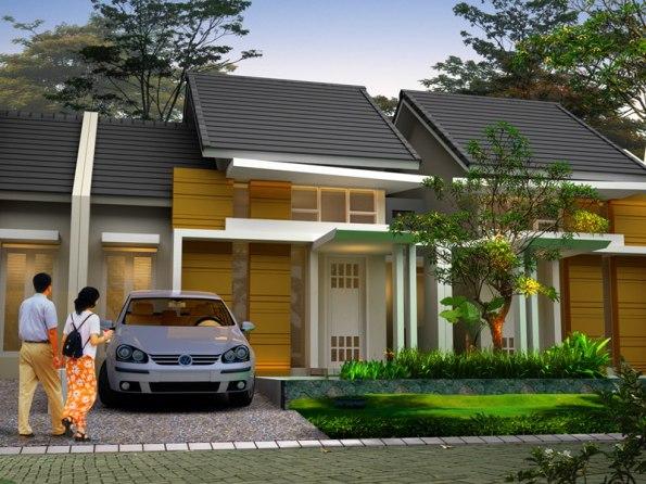 Rancangan Atap Rumah Type 45
