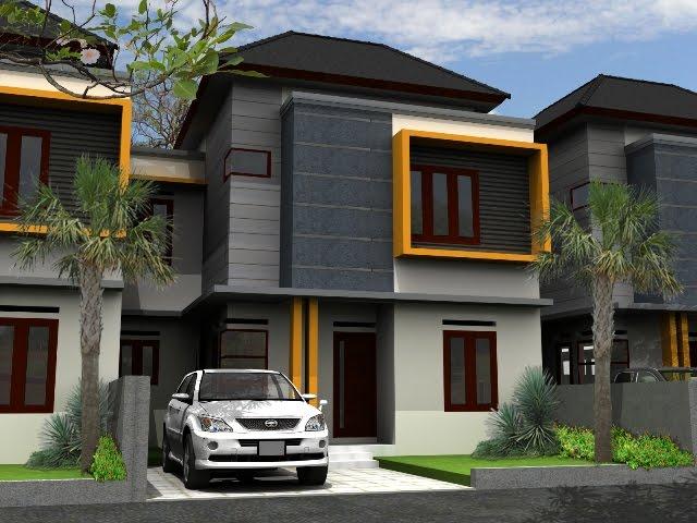 Rumah Rancangan Arsitek Type 45